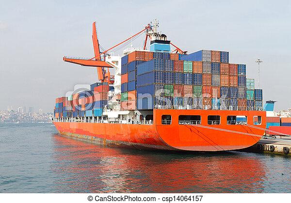 Container Ship - csp14064157