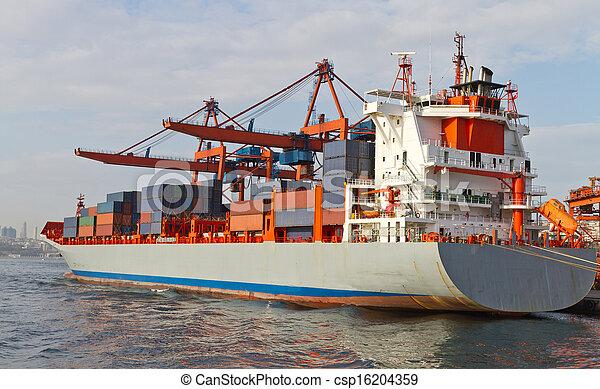 Container Ship - csp16204359
