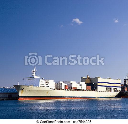 Container ship - csp7544325