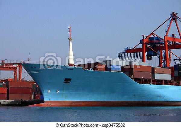 Container ship - csp0475582