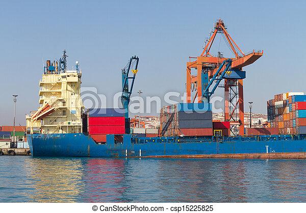 Container Ship - csp15225825