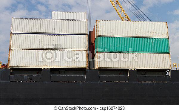 Container Ship - csp16274023