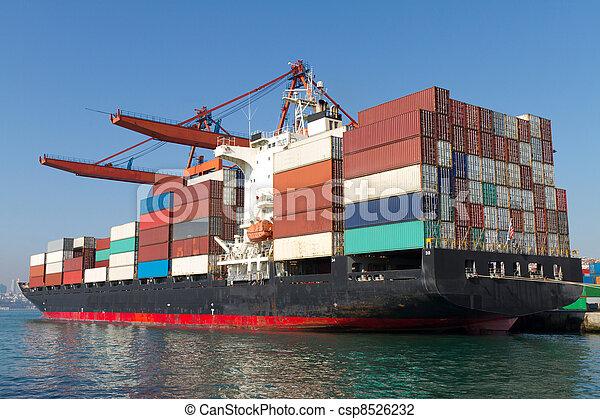 Container Ship - csp8526232