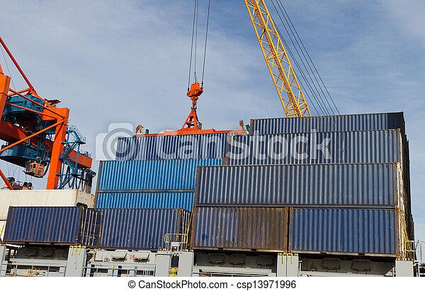 Container Ship - csp13971996