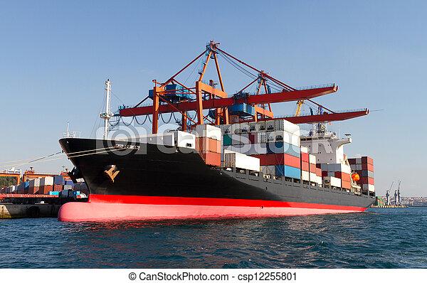Container Ship - csp12255801