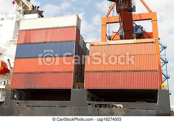 Container Ship - csp16274003