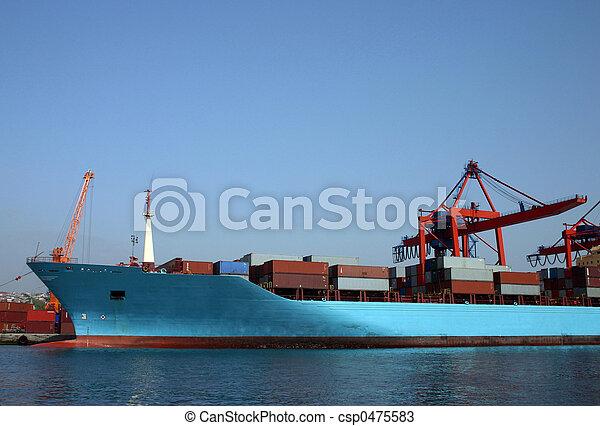 Container ship - csp0475583