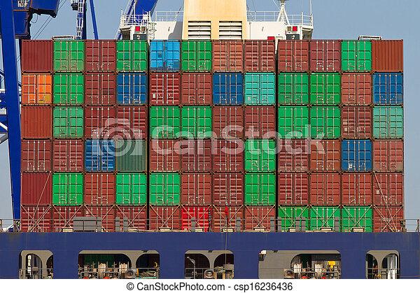 Container Ship - csp16236436