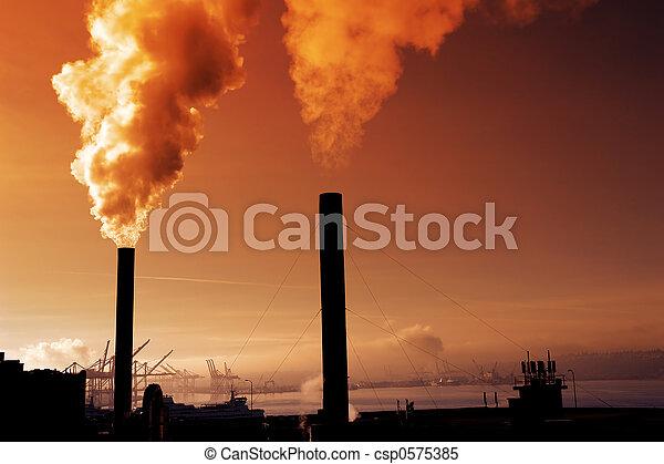 contaminación - csp0575385