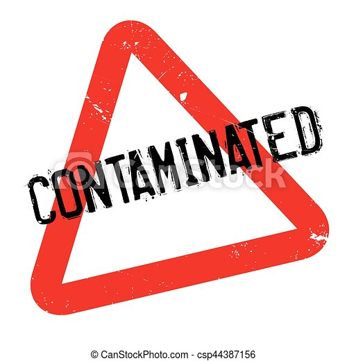 contaminated rubber stamp grunge design with dust scratches rh canstockphoto com soil contamination clipart radioactive contamination clipart