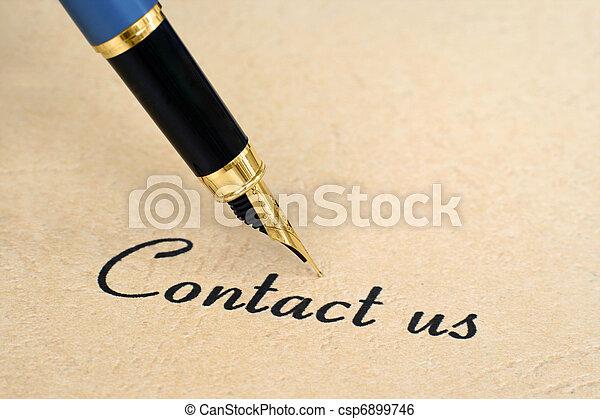contattarci - csp6899746