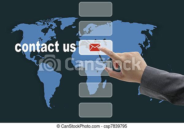 contattarci - csp7839795