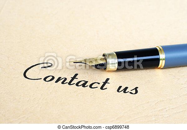 contattarci - csp6899748
