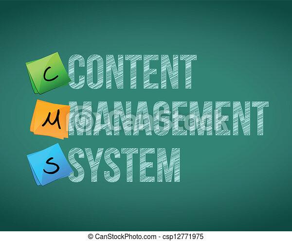 conteúdo, gerência, sistema - csp12771975