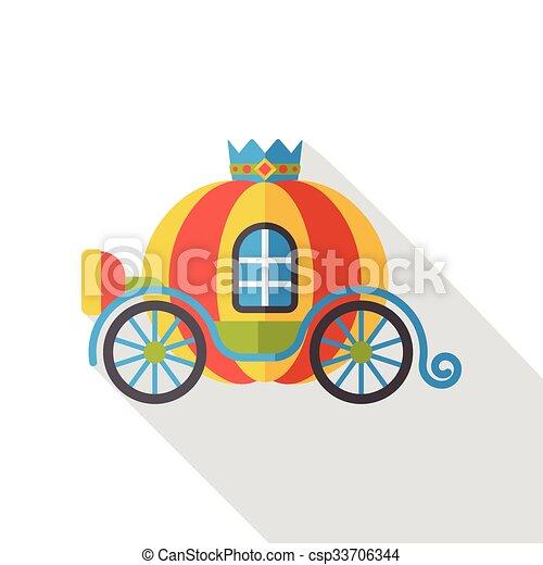 conte fées, voiture - csp33706344