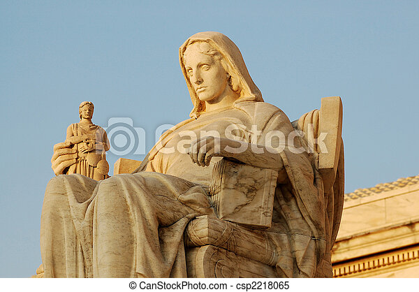 Contemplation of Justice - csp2218065