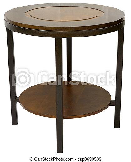 Contemporary End Table - csp0630503