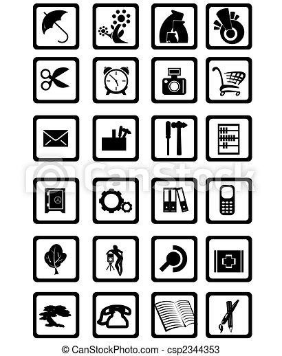 Contemporary Icons  - csp2344353