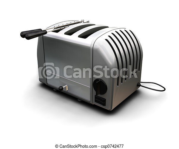 Contemporary toaster - csp0742477