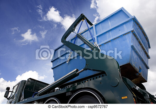 Un contenedor de carga - csp9572767