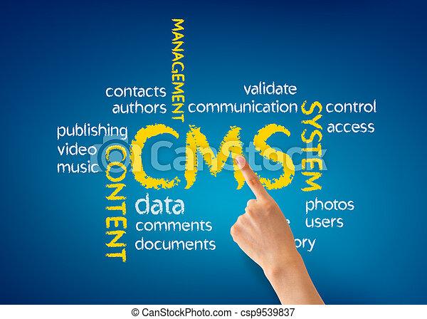 contenido, dirección, sistema - csp9539837