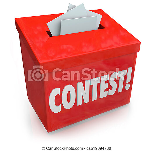 Contest Entry Form Box Enter Win Drawing Raffle Prize - csp19094780