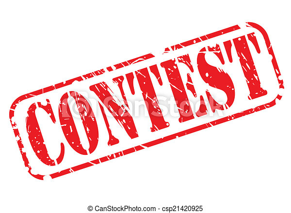 Contest red stamp text - csp21420925