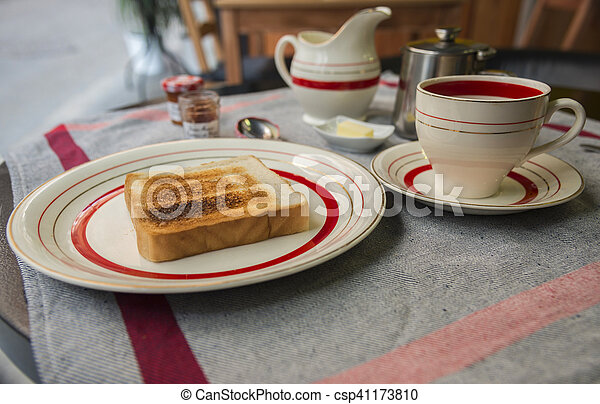 Continental breakfast - csp41173810