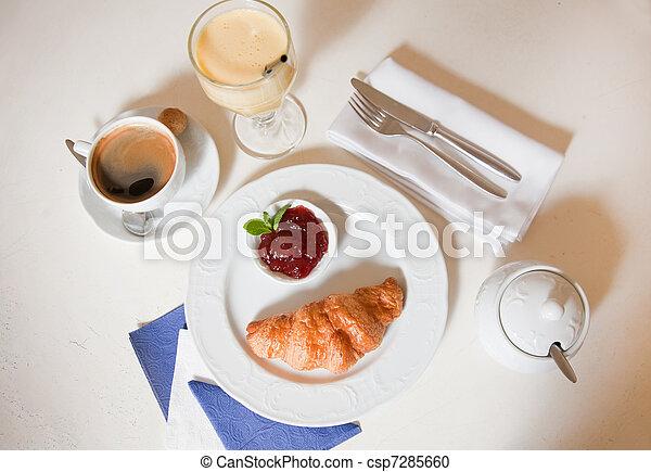 Continental breakfast - csp7285660