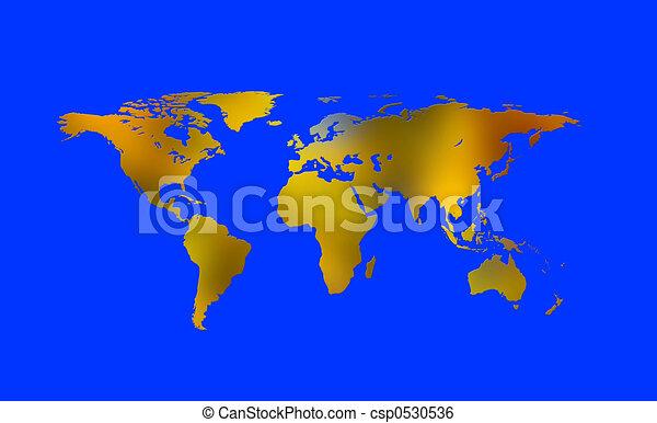 Continents 4 - csp0530536