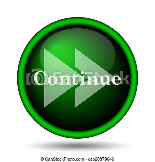 Continue icon - csp20879646