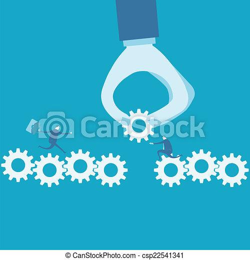 continuità, concetto, affari - csp22541341