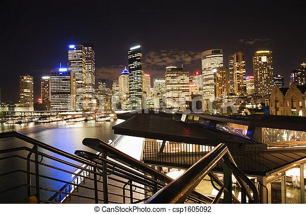 Skyline Sydney, Australia - csp1605092