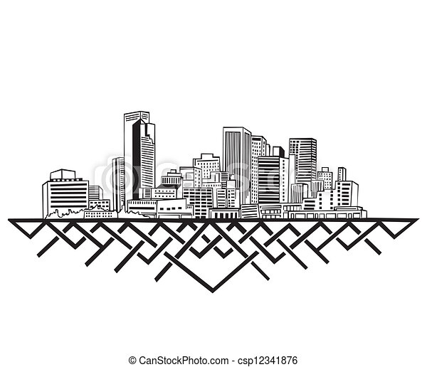 Phoenix, Skyline AZ - csp12341876