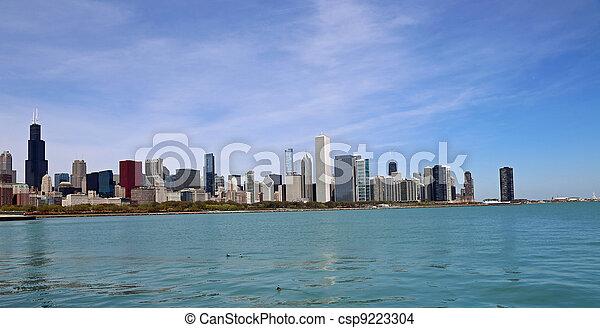 Chicago Skyline - csp9223304