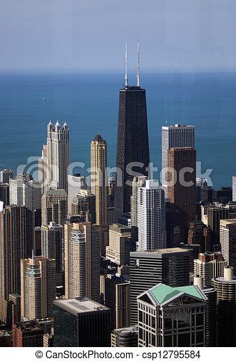 Chicago Skyline - csp12795584