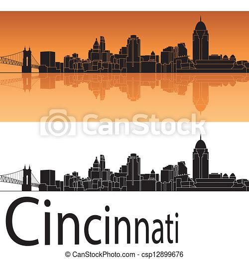Cincinnati Skyline - csp12899676