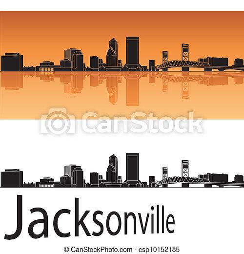 Jacksonville Skyline - csp10152185