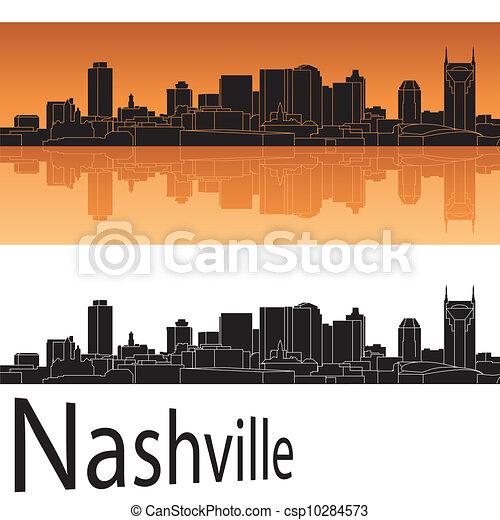 Nashville Skyline - csp10284573