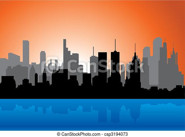 Skyline - csp3194073