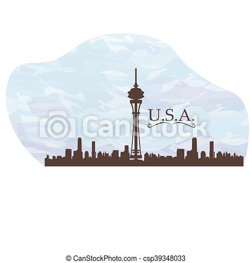 Skyline - csp39348033