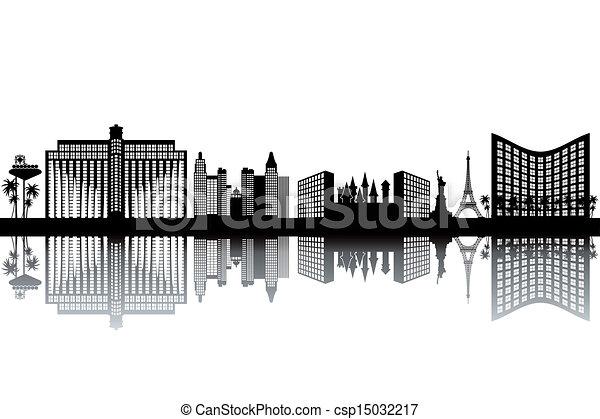 Las Vegas Skyline - csp15032217