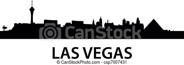 Skyline las Vegas - csp7007431