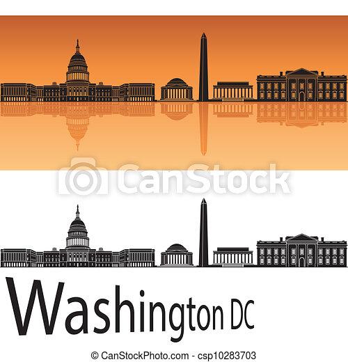 Washington DC Skyline - csp10283703
