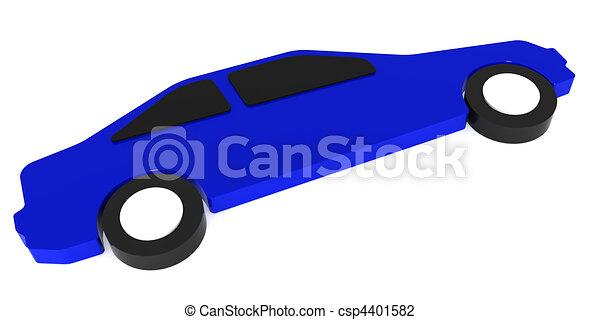 Contour of the automobile - csp4401582