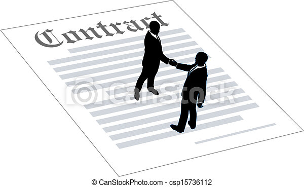 contract business people sign agreement people agree to sign rh canstockphoto com contact clip art contractor clip art free