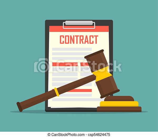 Contract Law Concept Of Legal Regulation Judicial System Business