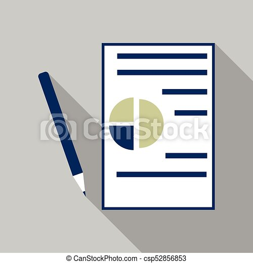 Contract Vector Icon Flat Business Symbol Agreement Pictogram