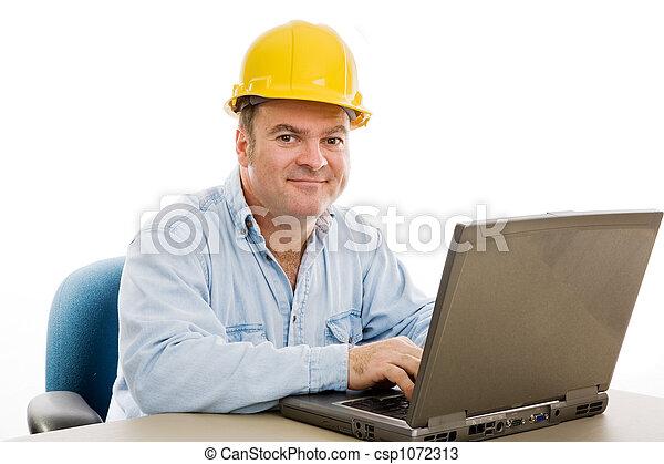 Contractor in Office - csp1072313