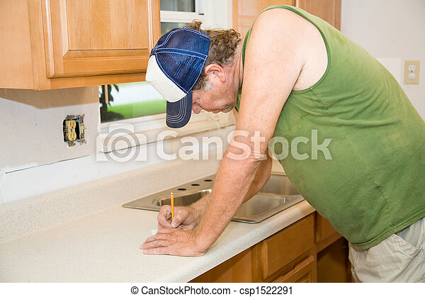 Contractor Taking Notes - csp1522291